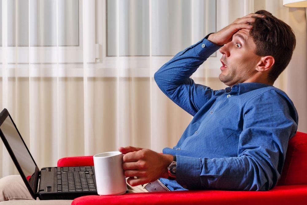 Trabalho em casa pela internet desvantagens