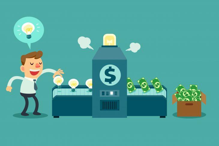 Trabalhe em casa máquina de dinheiro