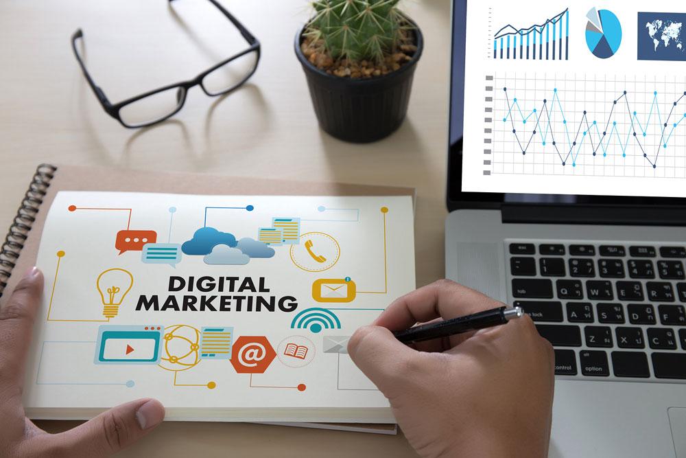 Agência de marketing digital home office