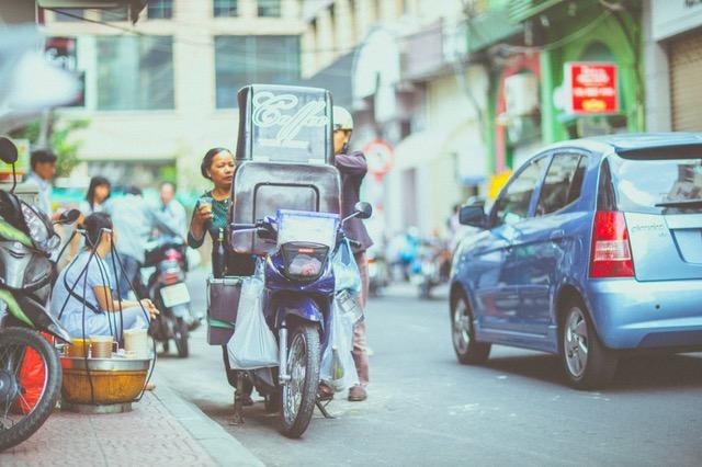 Como vender pela internet moto muito carregada