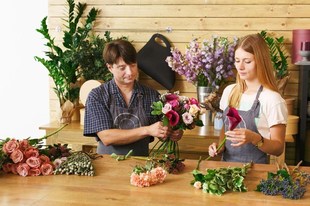 Estrutura para montar uma floricultura online